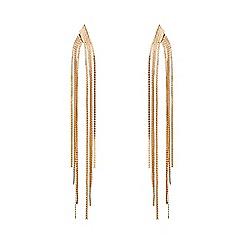 Phase Eight - Gold bessie tassel earrings