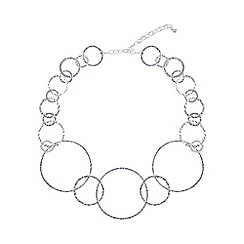 Phase Eight - Silver farah rings pendant necklace