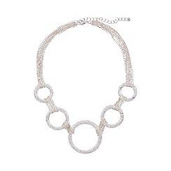 Phase Eight - Silver caroline statement necklace