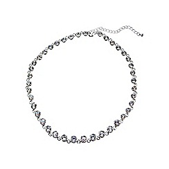 Phase Eight - Silver helen crystal necklace