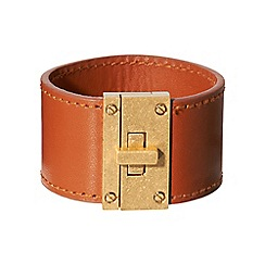 Phase Eight - Tan ellen leather cuff