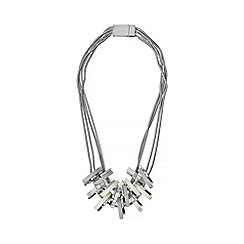 Phase Eight - Silver zarina statement necklace