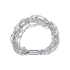 Phase Eight - Silver dafne multi row bracelet