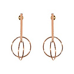 Phase Eight - Rose gold alex earrings