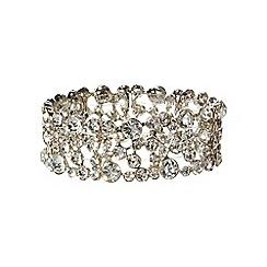 Phase Eight - Silver leah crystal bracelet