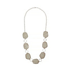 Phase Eight - Grey areil long necklace