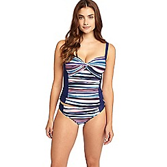 Phase Eight - Gwyn stripe tankini top