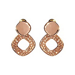 Phase Eight - Rose gold florence earrings