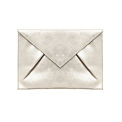 Phase Eight - Samara suede clutch