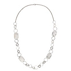 Phase Eight - Aurelia marble ring necklace