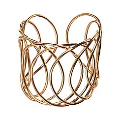 Phase Eight - Gold kath swirl cuff