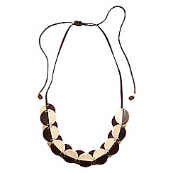 Phase Eight - Chocolate lottie necklace