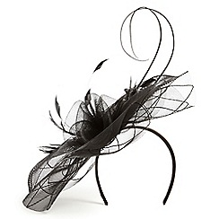 Phase Eight - Black lucy fascinator