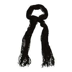 Phase Eight - Black mira shimmer scarf