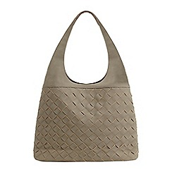 Phase Eight - Grey weave bag
