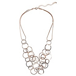 Phase Eight - Rose Gold melanie necklace