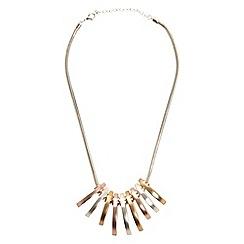 Phase Eight - Metallic stella necklace