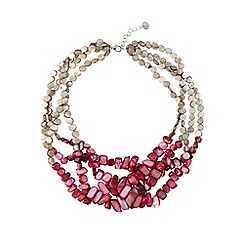 Phase Eight - Grey and Pink clarissa necklace