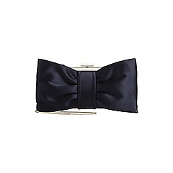 Phase Eight - Navy suzie bow clutch bag