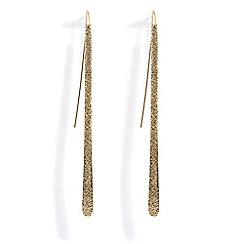 Phase Eight - Lilly sand blast pull through earrings
