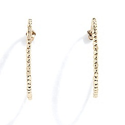 Phase Eight - Gold alma seed beed hoops
