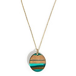 Phase Eight - Green Deena pendant necklace