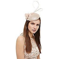 Phase Eight - Pink candice sequin pillbox fascinator