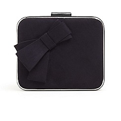 Phase Eight - Blue allie bow front box bag
