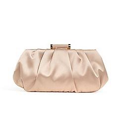 Phase Eight - Pink minnie satin clutch bag