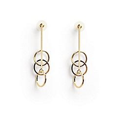 Phase Eight - Romily triple link long earrings