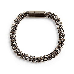 Phase Eight - Pewter rosalie stone round bracelet