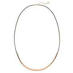 Phase Eight - Natural danni cord seedbead necklace
