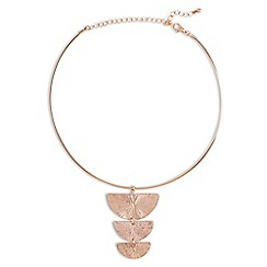 Phase Eight - Natural elysia geo torque necklace