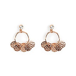 Phase Eight - Natural florence charm hoop earrings