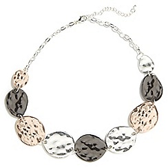Phase Eight - Carolina mixed plate coin necklace