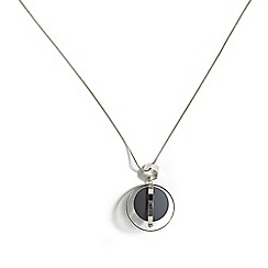 Phase Eight - Grey coleen ball pendant necklace