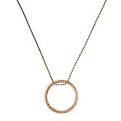 Phase Eight - Natural gwen pave disc necklace