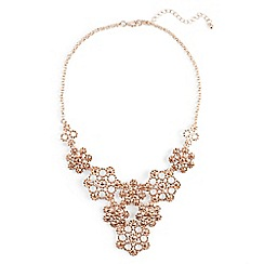 Phase Eight - Natural alexia flower stone necklace