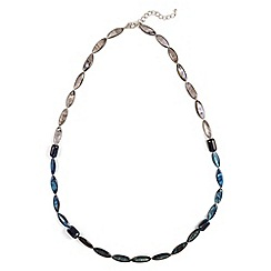 Phase Eight - Blue deborah blue bead long necklace