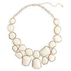 Phase Eight - Cream elsa geo shape collar necklace