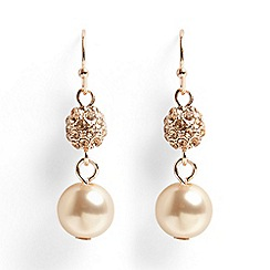 Phase Eight - Bettina pearl and pave drop earrings