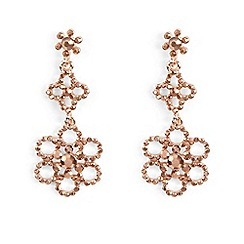 Phase Eight - Natural alexia flower stone drop earrings