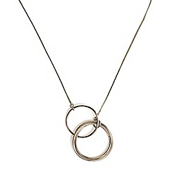 Phase Eight - Cora link ring long necklace