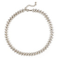 Phase Eight - Metallic aideen crystal necklace