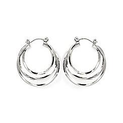Phase Eight - Metallic ivanna hoop earrings