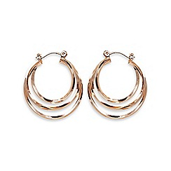 Phase Eight - Natural ivanna hoop earrings
