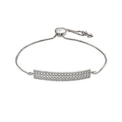 Phase Eight - Cubic Zirconia Mesh Slider Bracelet