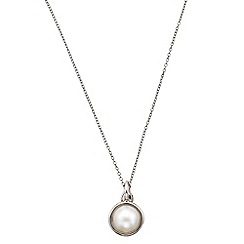 Phase Eight - Freshwater Pearl Mabe Enhancer Necklace