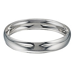 Phase Eight - Sterling Silver Wide Bangle