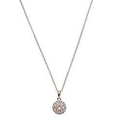 Phase Eight - Rose Blush Halo Pendant Necklace